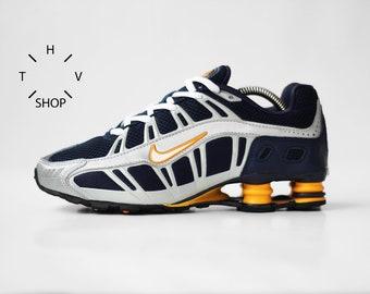 Vintage Nike Shox Turbo III OZ sneakers   Kicks womens kids Unisex    Obsidian White Industrial Orange running shoes trainers   90s 16e500454