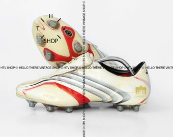 864f65d6d52 Vintage adidas +F50 TUNIT 32 Einigkeit boots   OG original Football Soccer  boots   German Special Edition cleats   90s