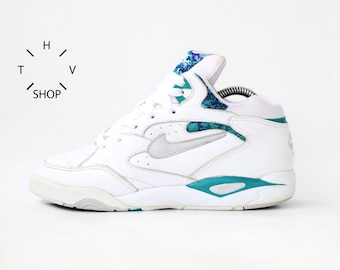 a562ee0d2efdf2 1994 Vintage Nike Air Conditioner Mid low sneakers   Tech Challenge Court Andre  Agassi kicks   Cross Court Hot Lava shoes trainers OG   90s