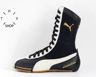 80`S 90`S VINTAGE NIKE LEGEND HI SHOES HI TOPS | Flickr