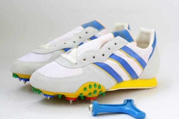 Retro Schuhe Track Laufen Jugoslawien Adidas Adi Hergestellt 70er Deadstock Star 80er Jahre Wettbewerb In Spikes Vintage Sport Nos Field 5qAj4L3R