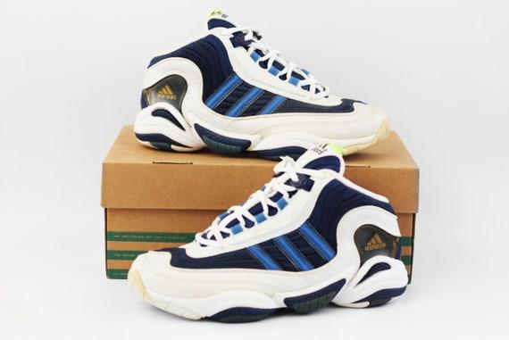 1998 NOS vintage adidas Equipment Fix Fitness sneakers Deadstock Crazy KB 8 kicks EQT Feet You Wear basketball hi tops shoes 90s