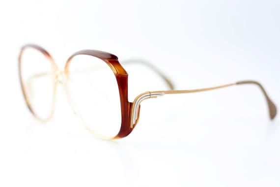 a0029d57e5 NOS vintage haute couture Neostyle Mondial eyeglasses   Brown