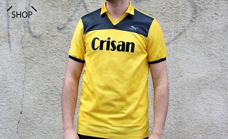 Vintage PUMA Crisan t-shirt   Mens PUMA Tshirt   Puma Soccer  e61ea1084