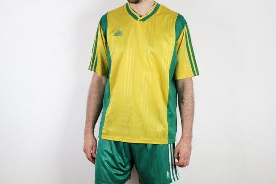 cuerda Recuperar complemento  90s adidas EQT Equipment vintage soccer kit / Nylon shorts   Etsy