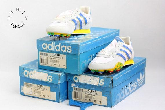 NOS Adidas Adi Star Wettbewerb Schuhe Vintage Track Field