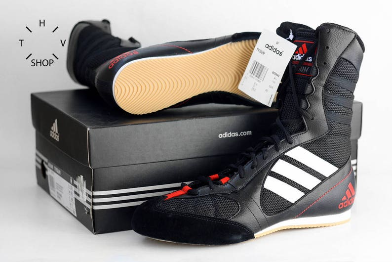 My new Adidas Tygun boxing boots   Got these in a sale at my