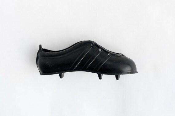 NOS Vintage adidas Fußballschuhe MiniaturenBlack Keychain Fußballschuhe3 Three Stripes Deadstock Black Keychain Retro Klacks70er 80er