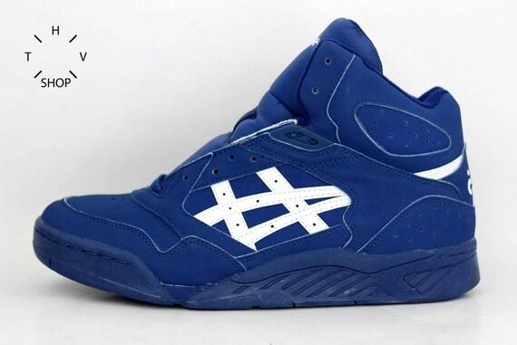 58da7ca8f1f3 1995 NOS Vintage Asics Gel Tiger MT Sneakers   Basketball Hi Tops Mens shoes