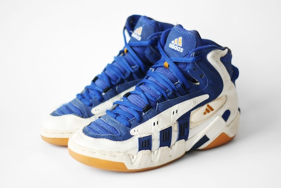 80`S 90`S VINTAGE ADIDAS EQUIPMENT (EQT) BASKETBALL HI