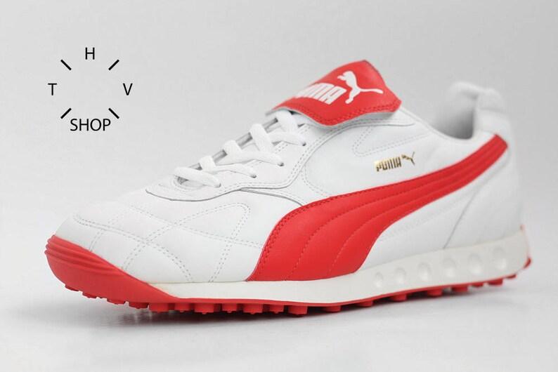 58324ca06dcf NOS Puma Avanti sneakers   Vintage mens leather kicks   OG