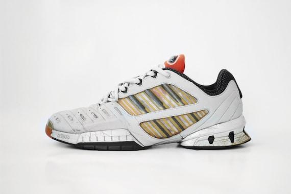 Jahrgang adidas ClimaCool Sneakers A3 Twinstrike grau schwarz Kicks Trainer EQT Ausrüstung Herren Deadstock OG Original Retro Schuhe 90er Jahre