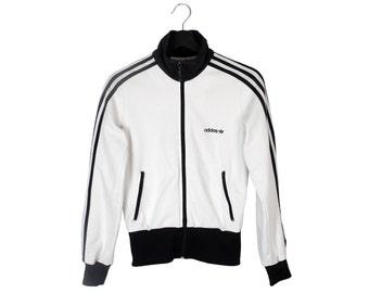 Y2k adidas Originals vintage track jacket / Women's tracksuit jacket / 3 Three Stripes track jacket / XS S