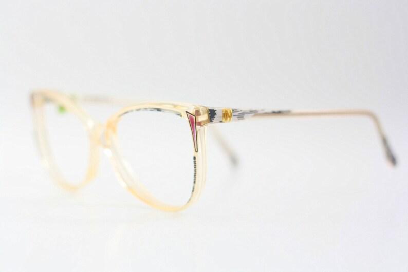 b85326d99e NOS Haute Couture MAGGY ROUFF vintage eyeglasses   Cat Eye Parrot ...