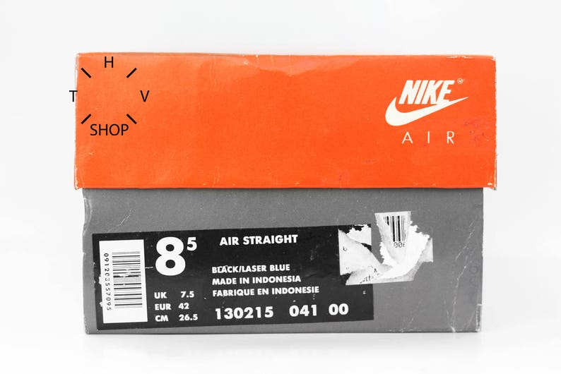 online store aac6d c5037 Sneakers Vintage Nike Air dritto di NOS 1995   Deadstock   Etsy