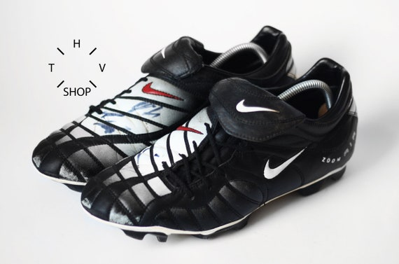 Vintage Nike Air Zoom Total 90 1 boots OG original Football Soccer boots Luis Figo Roberto Carlos Totti Davids cleats Indonesia 90s