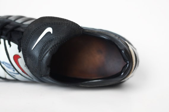 1999 NOS Vintage Nike Air Zoom Brasilia Turf Turnschuhe Fußball Schuhe Stollen Swoosh Athletik Sporttrainer Kicks 90er Jahre