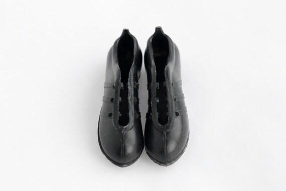 70er Jahre NOS Vintage adidas Fußballschuhe Miniaturen schwarz Schlüsselanhänger Fußballschuhe 3 drei Streifen Deadstock schwarz Schlüsselanhänger