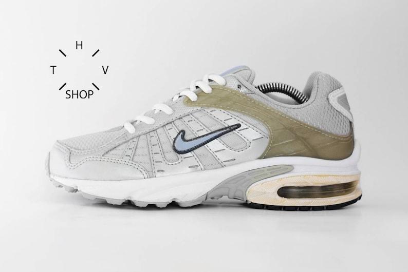 NOS Vintage Nike Air Aim sneakers   Vintage Silvery Grey Trainers  847b427fdd3c