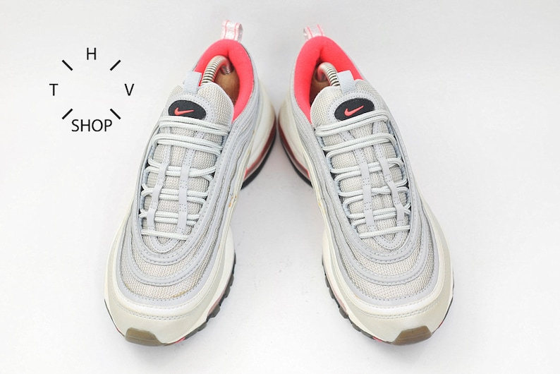 best website e034a 7dddf Vintage Nike Air Max 97 sneakers   Silver Bullet Pink Trainers   Etsy