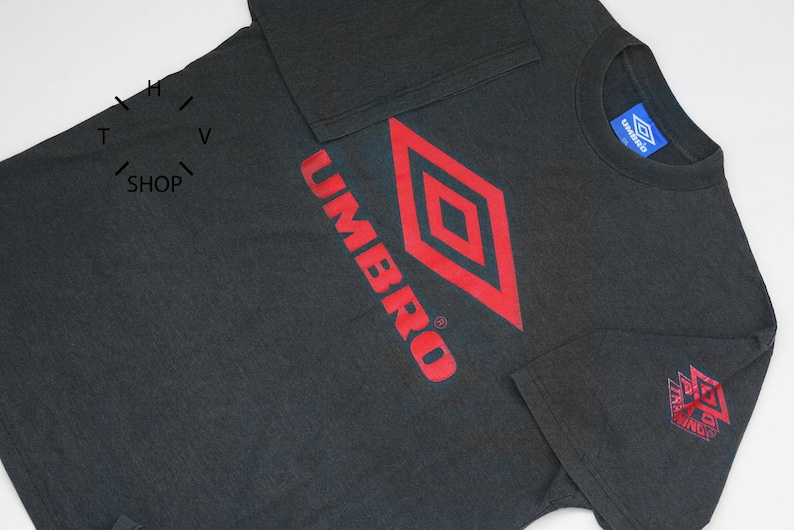 Vintage Umbro Pro Training Tshirt Retro T Shirt Sports Etsy