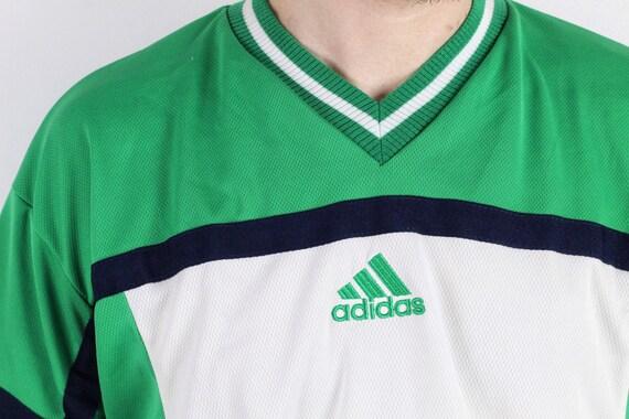 claridad Contra la voluntad perdonado  90s NOS vintage adidas EQT Equipment Finals Hellas tshirt /   Etsy