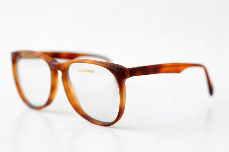 Nos Jil Sander Unisex Eyeglasses Nerd Hipster Glasses