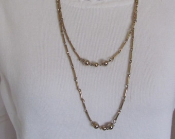 08a9b3acb Necklace Beautiful Gold Chain Extra Long 50