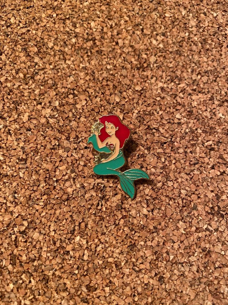 Little Mermaid vintage pin