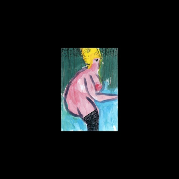 Gianni recommend best of painting blonde fat