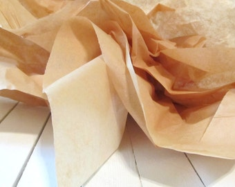Tissue paper flowers etsy kraft brown tissue paper gift grade 15 x 20 gift tissue paperbulk tissue sheetsbrown tissue papergift tissue sheetsgift wrap tissue mightylinksfo