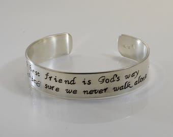 Best Friend Bracelet - A best friend is God's way...