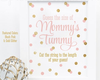 Baby Shower Games Guess How Many Candy Guessing Game Etsy
