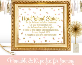 Headband Station Etsy