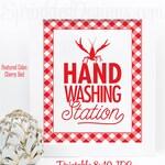Crawfish Boil Decorations, Hand Washing Station Sign, Crawfish Decor, Graduation Crawfish Boil Decor, Printable Crawfish Boil Party Sign