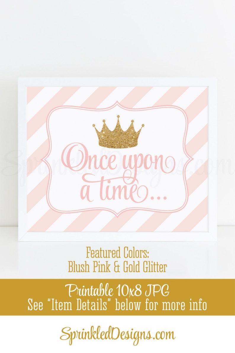 Once Upon A Time Princess Room Decor Princess Birthday Etsy