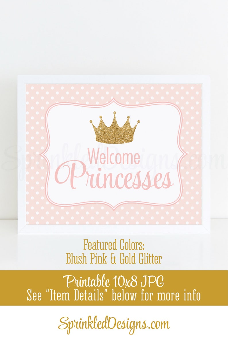 Princesses princess CHILDRENS PERSONALISED BIRTHDAY BADGE GLITTERY AND SPARKLES