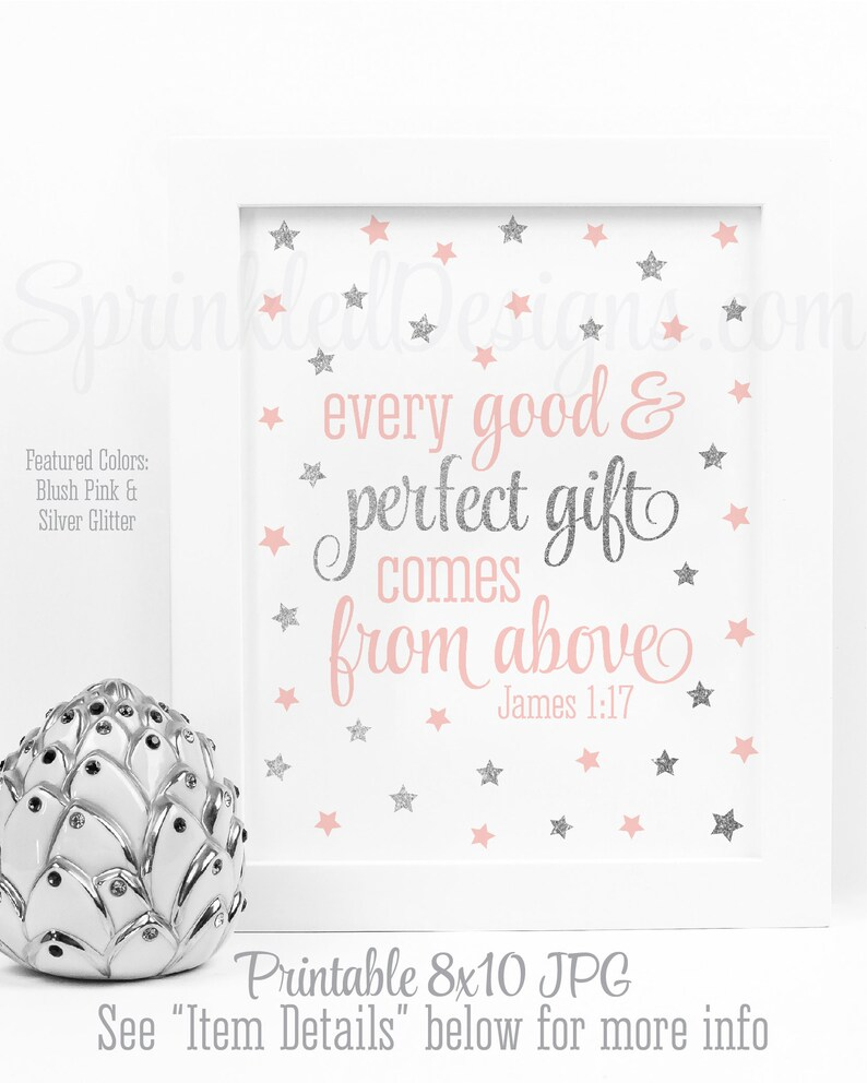 Every Good & Perfect Gift Comes From Above Twinkle Little image 0