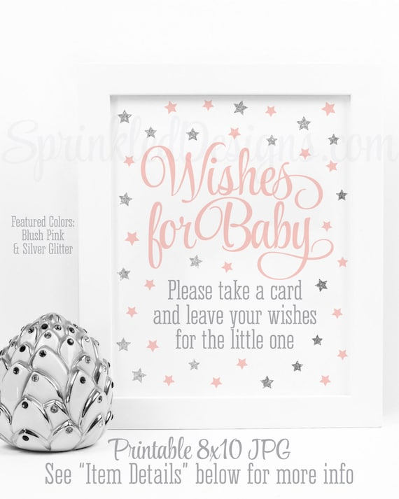 Wishes For Baby Girl Twinkle Twinkle Little Star Baby Shower