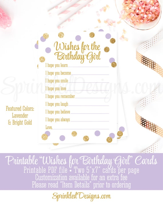 Birthday Wishes Cards For Girl