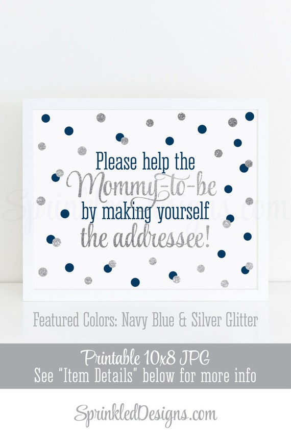 baby shower address an envelope sign addressee sign envelope