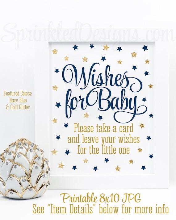 Iets Nieuws Wensen voor Baby Boy Twinkle Twinkle beetje ster Baby douche | Etsy #NW06