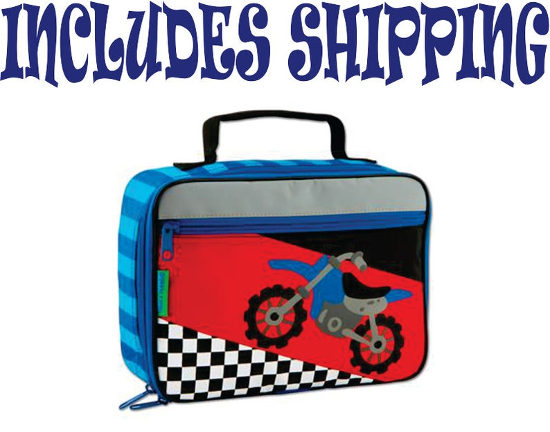 Stephen Joseph Toddler Motocross Lunch Box