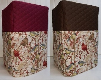 Birds & Berries Bread Machine Cover (5 Options Available)