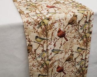 Birds & Berries Table Runner