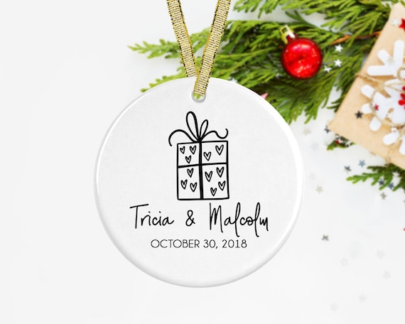 image 0 - Married Christmas Ornament Our First Christmas Ornament Etsy