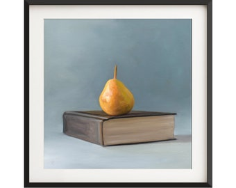 Fine Art Food Fruit Kitchen Oil Painting Archival Giclee Print by ...