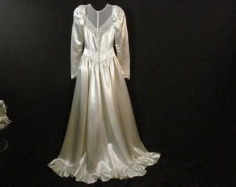 Ruffled wedding gown | Etsy