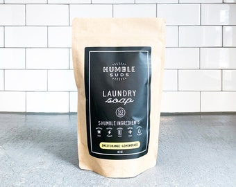 All Natural Laundry Soap - Compostable Bag