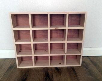 16 Compartment Handmade Emma Bridgewater Mug Storage Shelf, Pigeon Hole  Storage Shelf Unit, Half Pint Mug Storage, Pigeon Hole Unit